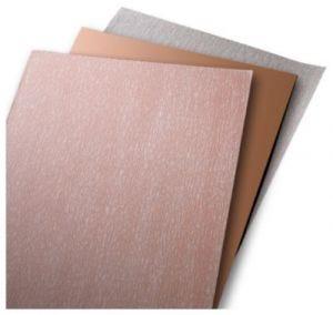 Papiers abrasifs en feuille